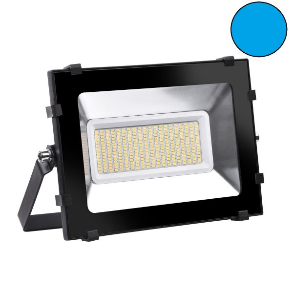 LED Floodlight blauw huren - 150 watt HQI vervanger
