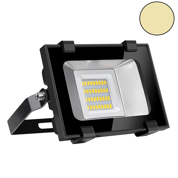 20 watt LED floodlight. De vervanger van de 150 watt bouwlamp