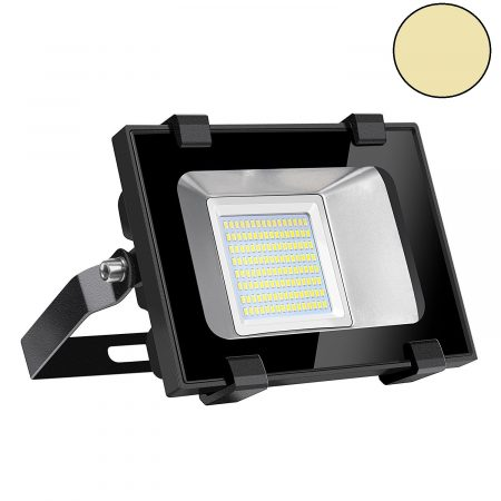 50 watt LED floodlight. De vervanger van de 300 watt bouwlamp