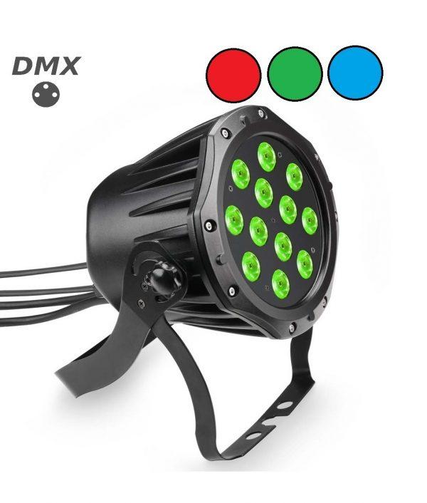 12 x 3 watt outdoor led par voorzien van dmx