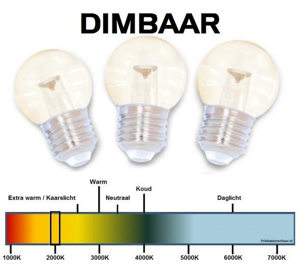 Heldere dimbare LED lampen huren