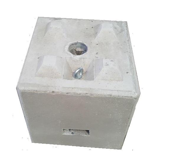 Betonblok voor prikkabel huren