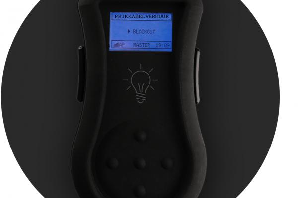 Controllerbox voor pixelaanstuurbare LED lampen in de prikkabel